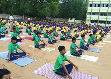 Yoga Day  on 21st June